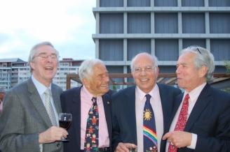 Drs. Nugent, Brazelton, Gomes-Pedro and Tronick, Lisbon, 2014