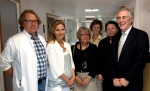 Dr. Moen and his team with Drs. Brandt and Nugent