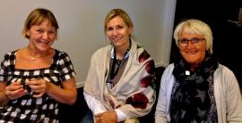 NBO Trainers: Inger Pauline Landem, Kari Slinning, Unni Tranvaas Vennebo