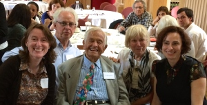 Dr. Brazelton with Australian NBO trainers Meghan Chapman, Campbell Paul, Beulah Warren and Susan Nicolson