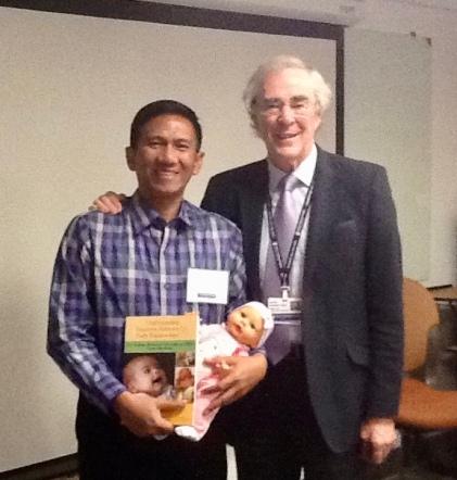Dr. Ahmed Suryawan and Dr. Nugent at Harvard NBO training, 2017